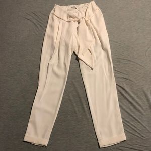 Ro & De White Tie Pants